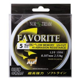 Леска Norstream Favorite 0.259mm 150m